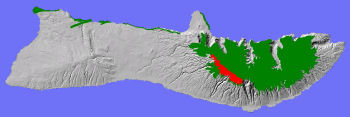 Montane mesic system on Moloka'i