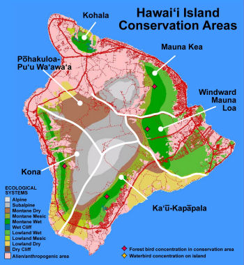 ecological systems Hawai'i Island